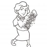 Cartoon of person name Rosalind.